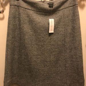 NWT Ann Taylor Gray Skirt